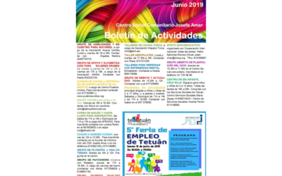 Boletín Actividades JUNIO 2019