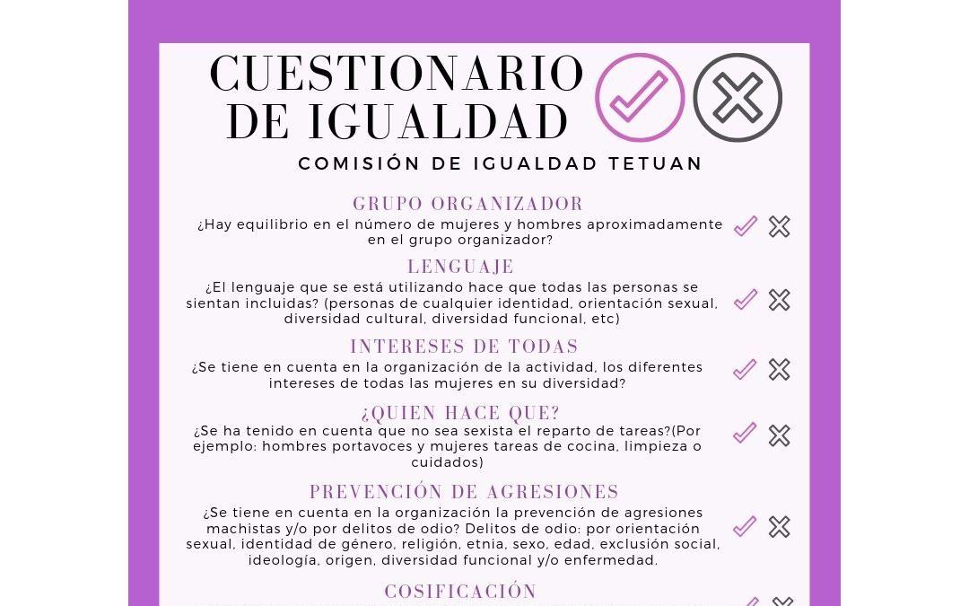 CUESTIONARIO DE IGUALDAD