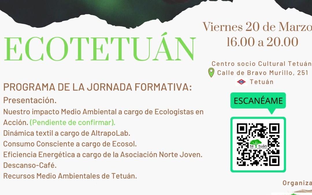 ECOTetuán Jornada Formativa sobre Medioambiente y Sostenibilidad
