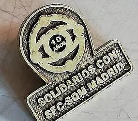 El Centro Social Comunitario recibe la Insignia Solidaria de la Asocición SFC-SQM Madrid