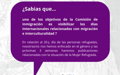 """Campaña de sensibilización """"Refugio por género"""""""